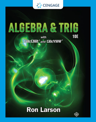 Algebra & Trigonometry - Larson, Ron, Professor