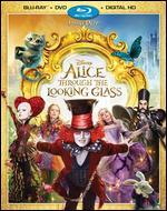 Alice Through the Looking Glass [Includes Digital Copy] [Blu-ray/DVD] - James Bobin