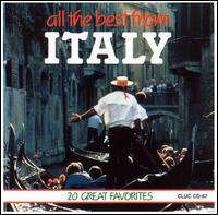 All the Best from Italy [1 Disc] - Various Artists