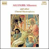 Allegri: Miserere and other Choral Masterpieces - Anna di Mauro (mezzo-soprano); Marina Koppelstetter (contralto); Oxford Camerata; Scholars Baroque Ensemble;...