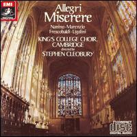 Allegri: Miserere - David Briggs (organ); Gerald Finley (cantor); Timothy Beasley-Murray (treble); King's College Choir of Cambridge (choir, chorus)