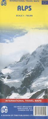 Alps, Scale 1: 750,000 - Itmb Publishing Ltd