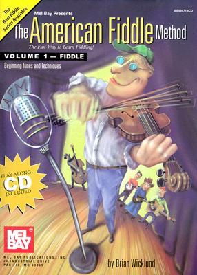 American Fiddle Method Volume 1 Book/CD Set - Wicklund, Brian