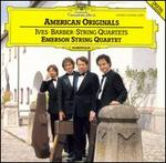 American Originals - David Finckel (cello); Emerson String Quartet; Eugene Drucker (violin); Lawrence Dutton (viola); Philip Setzer (violin)