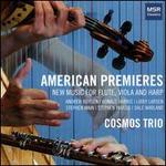 American Premieres: New Music for Flute, Viola and Harp