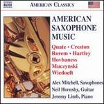 American Saxophone Music