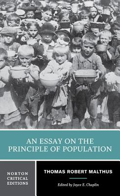 an essay on the principle of population malthus
