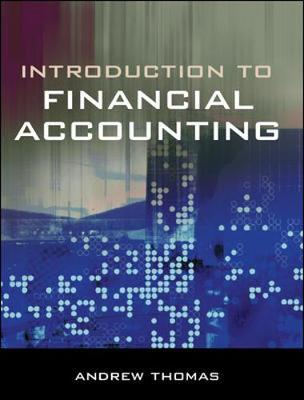 An Introduction to Financial Accounting - Rickwood, Colin, and Thomas, Andrew