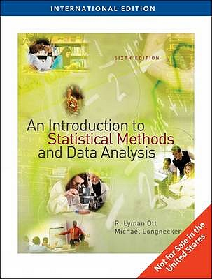 An Introduction to Statistical Methods and Data Analysis - Longnecker, Micheal, and Ott, Robert