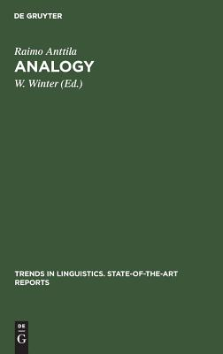 Analogy - Anttila, Raimo, and Winter, W (Editor)
