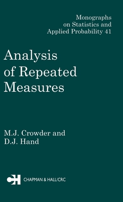 Analysis of Repeated Measures - Crowder, M J, and Crowder, Crowder J
