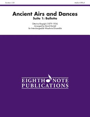 Ancient Airs and Dances, Suite 1 Balletto: Score & Parts - Respighi, Ottorino (Composer)