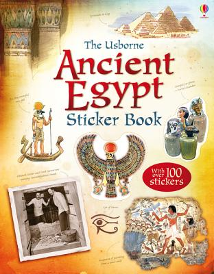 Ancient Egypt Sticker Book - Jones, Rob Lloyd
