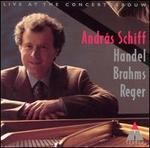 András Schiff Plays Handel, Brahms, Reger