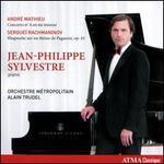 André Mathieu: Concerto No. 4 en mi mineur; Sergueï Rachmaninov: Rhapsodie sur un thème de Paganini