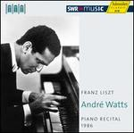 André Watts: Piano Recital, 1986