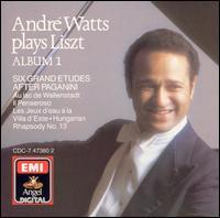 André Watts Plays Liszt - Album 1 - André Watts (piano)