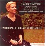 Andrea Anderson at the Cathedral of Our Lady of the Angels