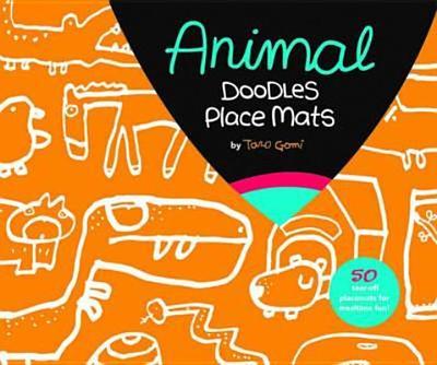 Animal Doodles Place Mats - Gomi, Taro