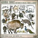 Animal Songs: Bestiaries in English, French & German