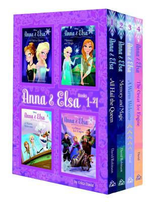 Anna & Elsa: Books 1-4 (Disney Frozen) - David, Erica