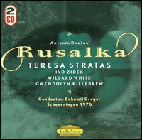 Antonín Dvorák: Rusalka - Angela Bello (vocals); Ans Philippo (vocals); Fons van Zijl (vocals); Gwendolyn Killebrew (vocals); Ivo Zidek (vocals);...