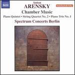 Anton Arensky: Chamber Music