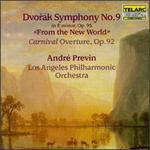 "Antonin Dvorak: Symphony No.9, ""From The New World""/Carnival Overture"