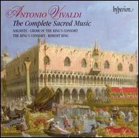 Antonio Vivaldi: The Complete Sacred Music - Adrian Peacock (bass); Alexandra Bellamy (oboe); Alexandra Gibson (contralto); Angharad Gruffydd Jones (soprano);...
