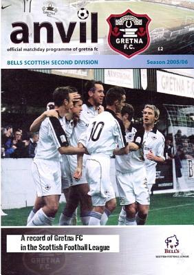 Anvil - A Record of Gretna Fc in the Scottish Football League - Tait, Jon