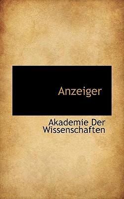 Anzeiger - Wissenschaften, Akademie Der