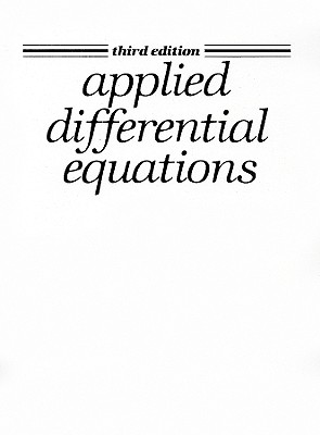 Applied Differential Equations - Spiegel, Murray R