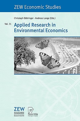 Applied Research in Environmental Economics - Bohringer, Christoph (Editor)