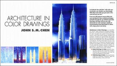 Architecture in Color Drawings - Chen, John S