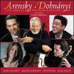 Arensky, Dohyn�nyi: Live from El Paso Pro-Musica January 7 2006