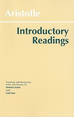 Aristotle: Introductory Readings - Aristotle, and Irwin, Terence (Translated by), and Fine, Gail