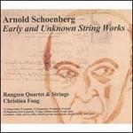 Arnold Schoenberg: Early and Unknown String Works [DVD Audio]