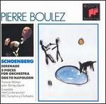 Arnold Schoenberg: Serenade; Five Pieces For Orchestra
