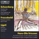 Arnold Schoenberg: Variationen über ein Rezitativ; Girolamo Frescobaldi: Ricercare cromatica post il Credo; etc.