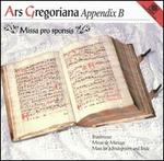 Ars Gregoriana, Appendix B: Missa pro sponsis