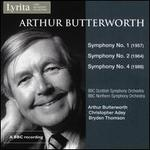 Arthur Butterworth: Symphonies Nos. 1, 2 & 4