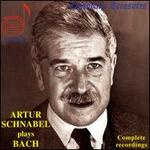 Arthur Schnabel Plays Bach