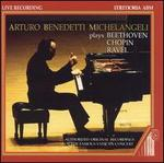 Arturo Benedetti Michelangeli Plays Beethoven, Chopin, Ravel