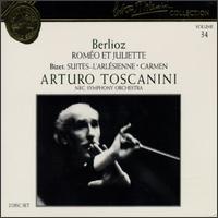 Arturo Toscanini Collection, Vol. 34: Berlioz - Roméo et Juliette; Bizet - Suites, L'Arlésienne & Carmen - Gladys Swarthout (mezzo-soprano); Jon Garrison (tenor); Nicola Moscona (bass); Chorus (choir, chorus); NBC Symphony Orchestra; Arturo Toscanini (conductor)