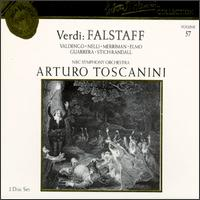 Arturo Toscanini Collection, Vol. 57: Giuseppe Verdi - Falstaff - Antonio Madasi (tenor); Cloe Elmo (mezzo-soprano); Frank Guarrera (baritone); Gabor Carelli (tenor);...