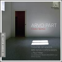 Arvo Pärt: Creator Spiritus - Chris Watson (tenor); Christopher Bowers-Broadbent (organ); Else Torp (soprano); NYYD Quartet; Paul Hillier (baritone);...