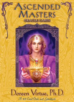 Ascended Masters Oracle Cards - Virtue, Doreen, Ph.D., M.A., B.A.