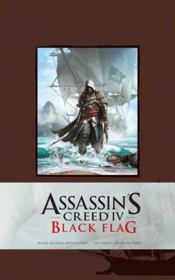 Assassin's Creed IV: Black Flag Hardcover Blank Journal Large - Ubisoft