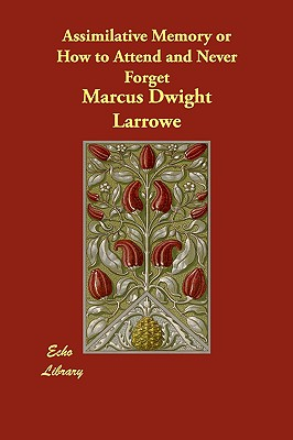 Assimilative Memory or How to Attend and Never Forget - Larrowe, Marcus Dwight
