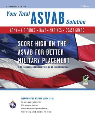 Asvab 7th Edition: Your Total Solution (Military (Asvab) Test Preparation) - Walker-Hammond, Wallie